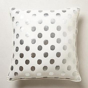 Jcpenney Gold Decorative Pillows : Happy Chic by Jonathan Adler Silver Chevron Decorative Pillow I jcpenney