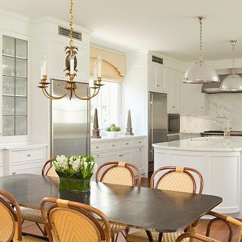 French Bistro Chairs, Cottage, kitchen, Elizabeth Dinkel Design