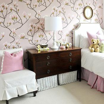 White and Pink Girl's Room, Traditional, girl's room, Kerrisdale Design