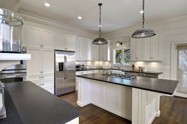 Leathered Granite Countertops Cottage Kitchen K And