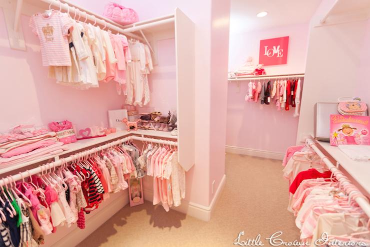 Attractive Nursery Closet