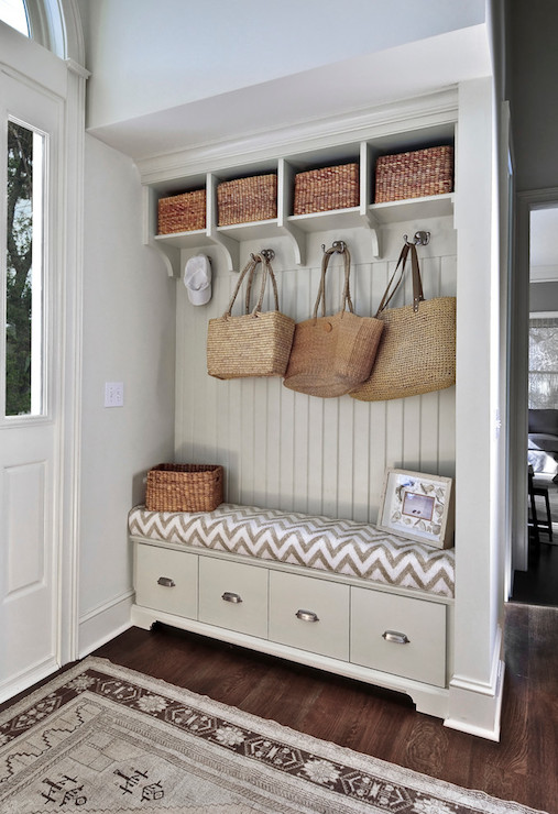 Fabulous Gray Mudroom Traditional Laundry Room K And K Cabinets Dailytribune Chair Design For Home Dailytribuneorg