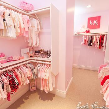 Baby Girl S Walk In Closet Design Ideas