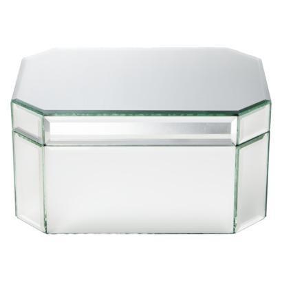 Threshold Mirrored Large Jewelry Box