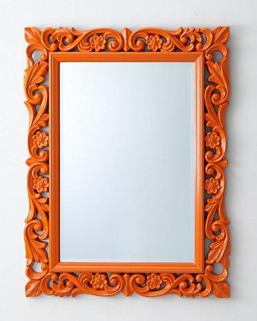 how to wall tile a bathroom vintage inspired modern orange chateau mirror 25536