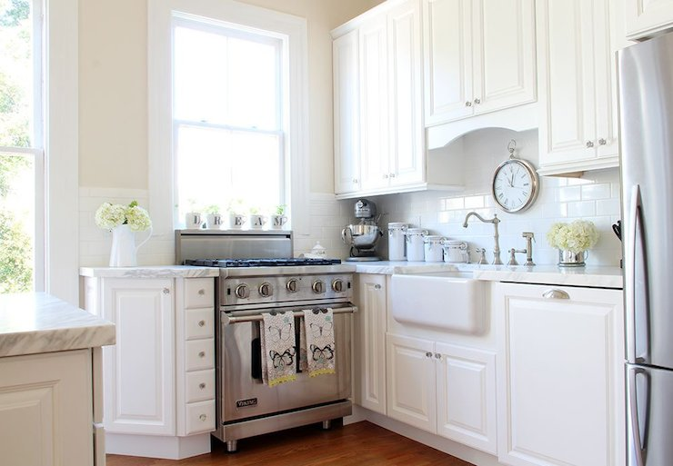 Home Depot Cabinets - Transitional - kitchen - Valspar Cream in My ...
