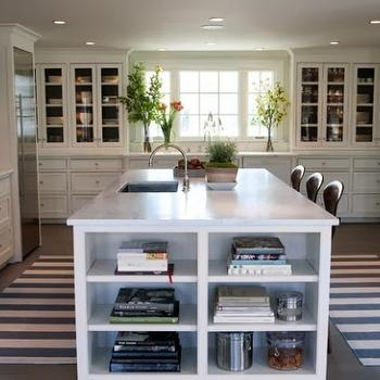 Striped Runner, Cottage, kitchen, Sage Design