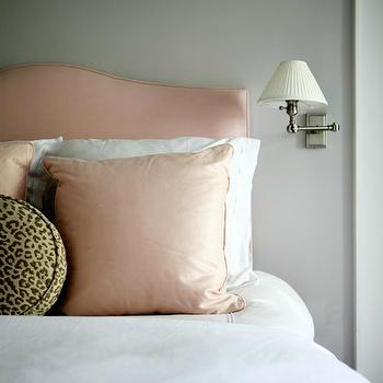 Pink Headboard, Transitional, bedroom, Sage Design