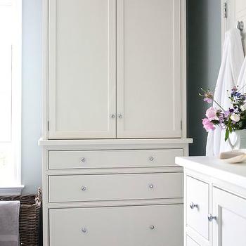 Bathroom Linen Cabinet, Transitional, bathroom, Sage Design