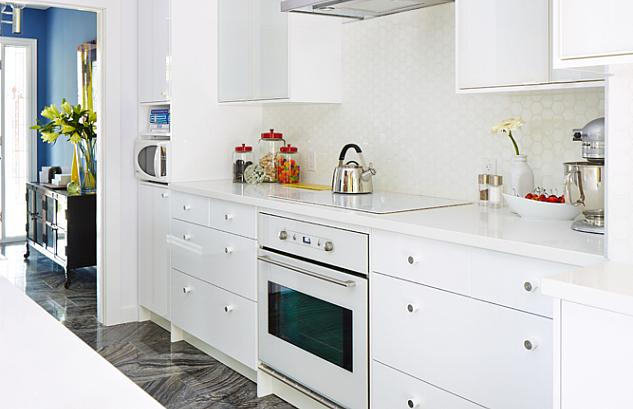 Ikea Kitchen Cabinets Contemporary Kitchen Sarah Richardson - Caesarstone blizzard countertop