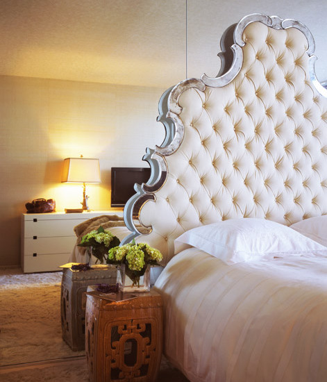 Floot to Ceiling Mirrors - Transitional - bedroom - Jennifer ...
