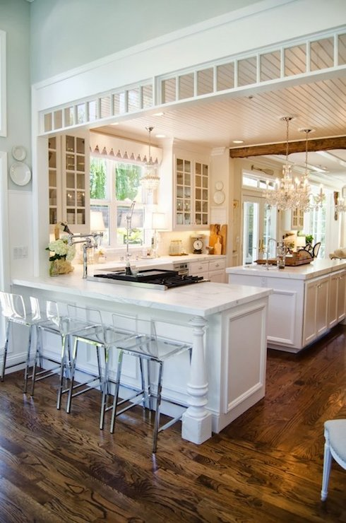 Interior design inspiration photos by apartment therapy for Open kitchen no island