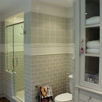 Bathroom Vanities Under $400 white and grey bathroom - transitional - bathroom - talk of the house