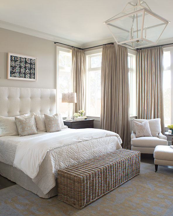 Ivory and Beige Bedroom, Transitional, bedroom, Wayne ...