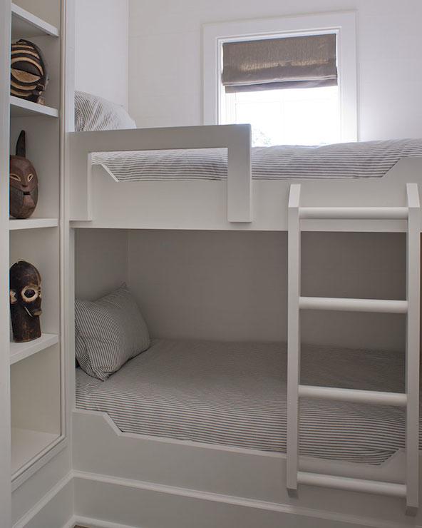 Built In Bunk Beds Cottage Boy S Room Wayne Windham Architect