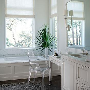 Vanity Chair, Transitional, bathroom, Wayne Windham Architect