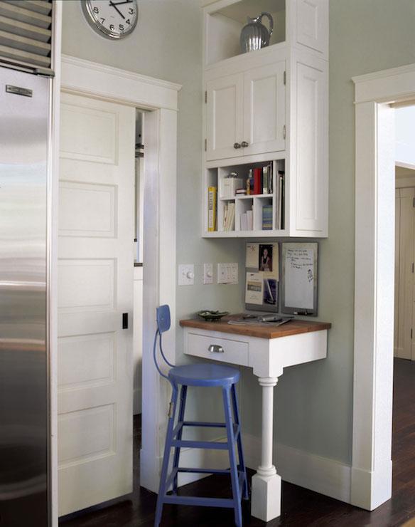 Corner Desk Cottage Kitchen Smith River Kitchens