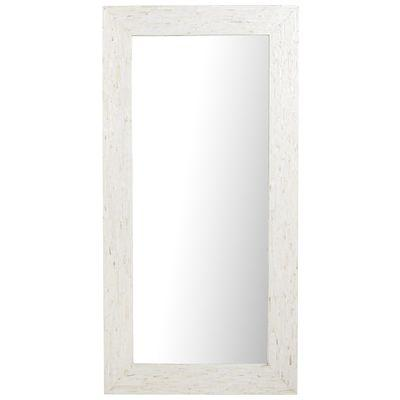 Ivory Mother Of Pearl Floor Mirror