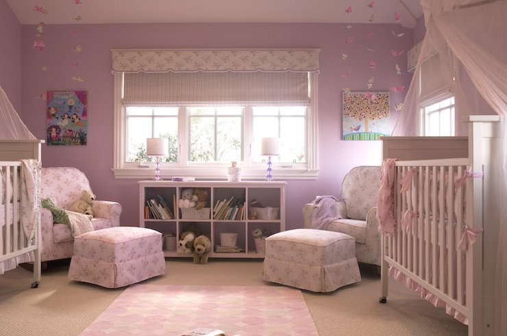 Twin Nursery Traditional Nursery Annette Tatum
