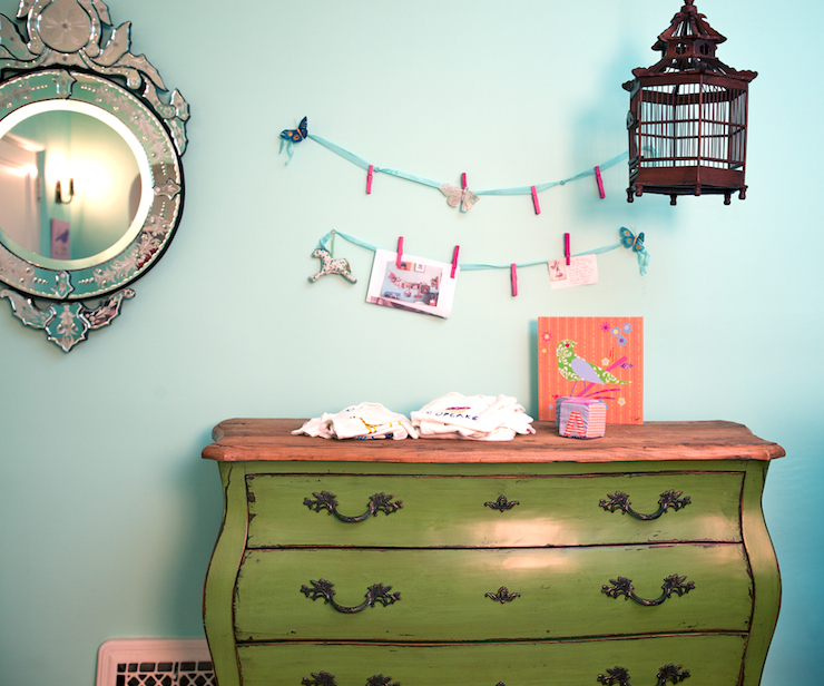 Green Bombay Chest