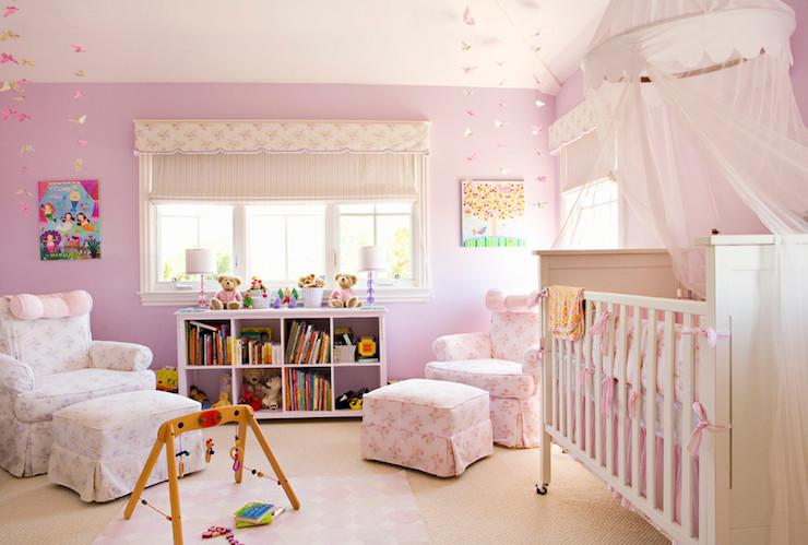 Crib Canopy & Crib Canopy - Traditional - nursery - Annette Tatum