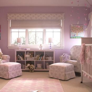Twin Nursery, Traditional, nursery, Annette Tatum