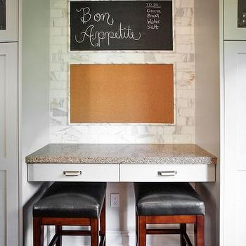 Cork Board Backsplash Design Ideas