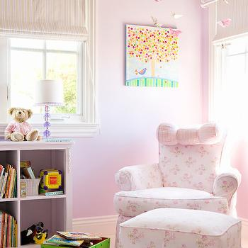 Girl Nursery Ideas, Traditional, nursery, Annette Tatum
