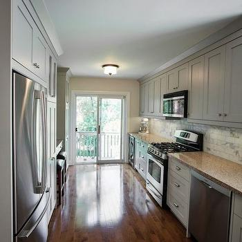 Galley Kitchen, Transitional, kitchen, Madison Taylor Design