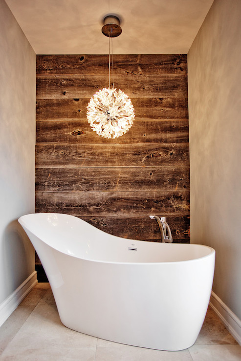 Wood accent waaa contemporary bathroom madison for Tendance salle de bain 2017
