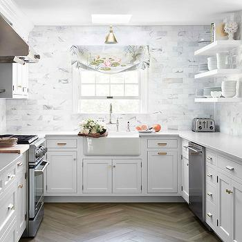 Silestone Lagoon Transitional Kitchen House Beautiful