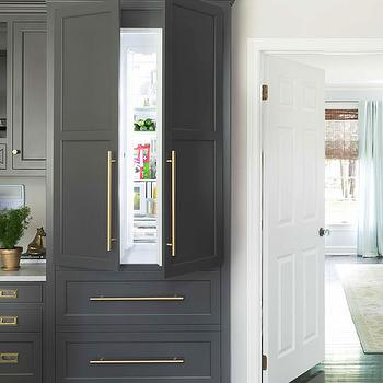Dark Gray Cabinets Design Decor Photos Pictures