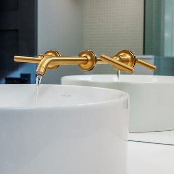 Kohler Vox Sink, Contemporary, bathroom, Madison Taylor Design