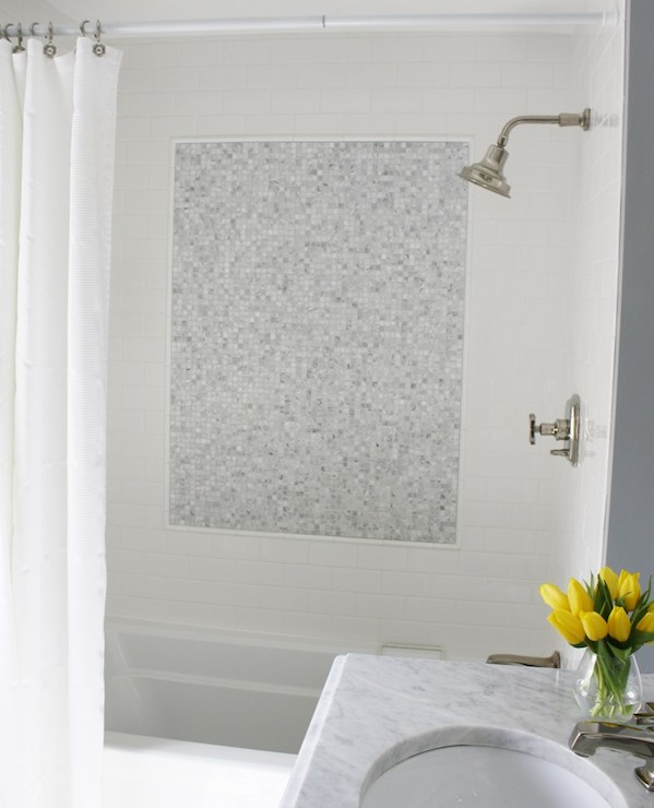 Shower Tile Patterns Contemporary Bathroom Simply