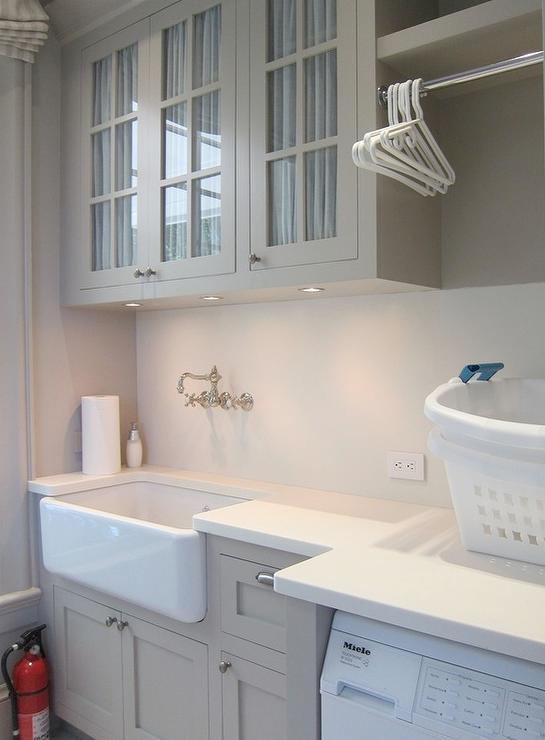 Farmhouse Laundry Room Sink