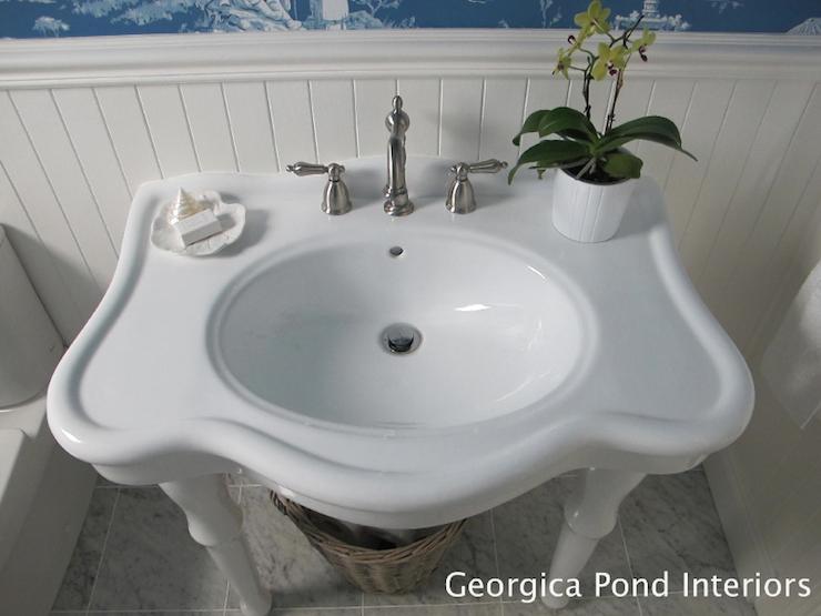 Parisian Pedestal Sink