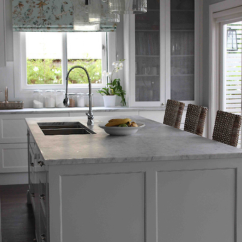 Island Pendants, Transitional, kitchen, Georgica Pond Interiors