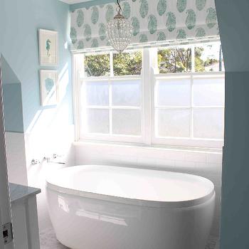 Bathtub Nook, Transitional, bathroom, Georgica Pond Interiors
