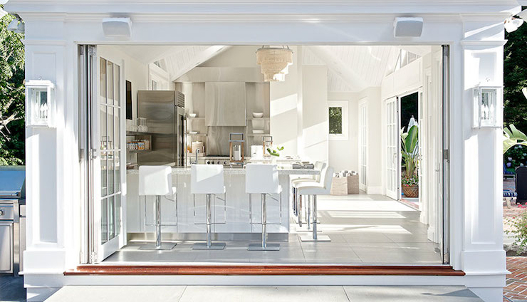Outdoor Kitchen Contemporary Kitchen Laura Tutun
