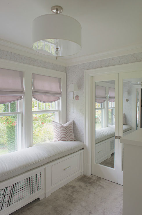 Closet Window Seat Design Ideas