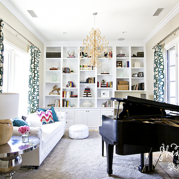 Baby Grand Piano Design Ideas