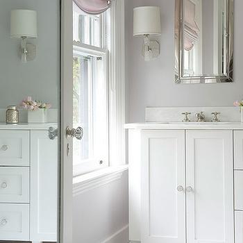 Lovely Lavender Bathroom