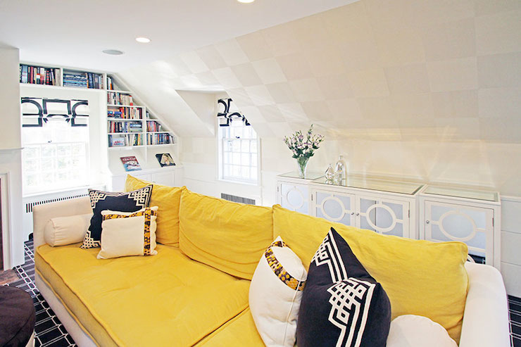Geometric Ceiling Design Ideas