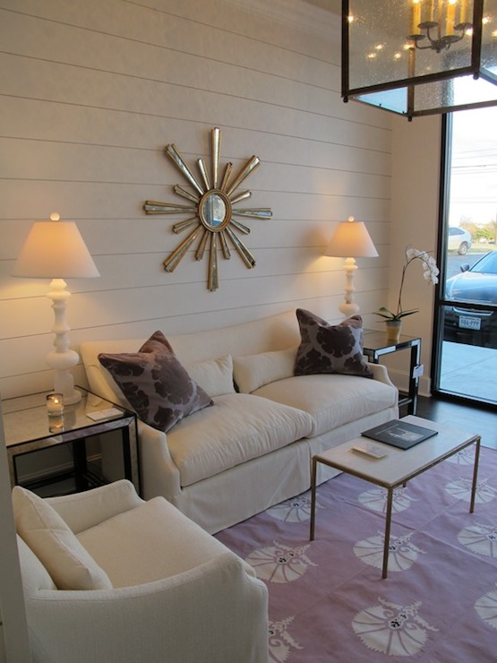 Purple Living RoomTransitionalliving room