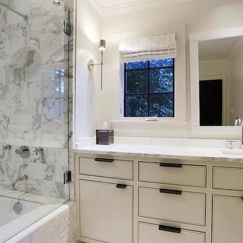Bathroom Mirrors Over Windows off set vanity sink design ideas