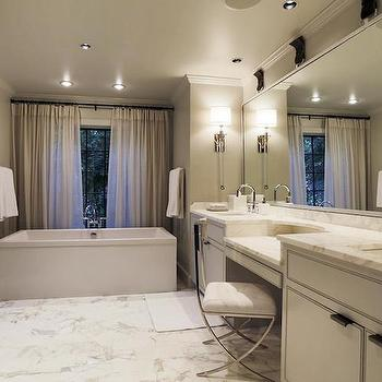Bathtub in Front of Window, Contemporary, bathroom, HAR