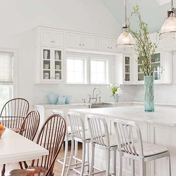 Industrial Counter Stools, Cottage, kitchen, Eric Roseff Design