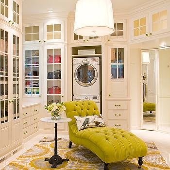 Walk In Closet Laundry Room Design Ideas