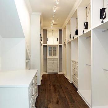 Long Walk In Closet, Contemporary, closet, HAR