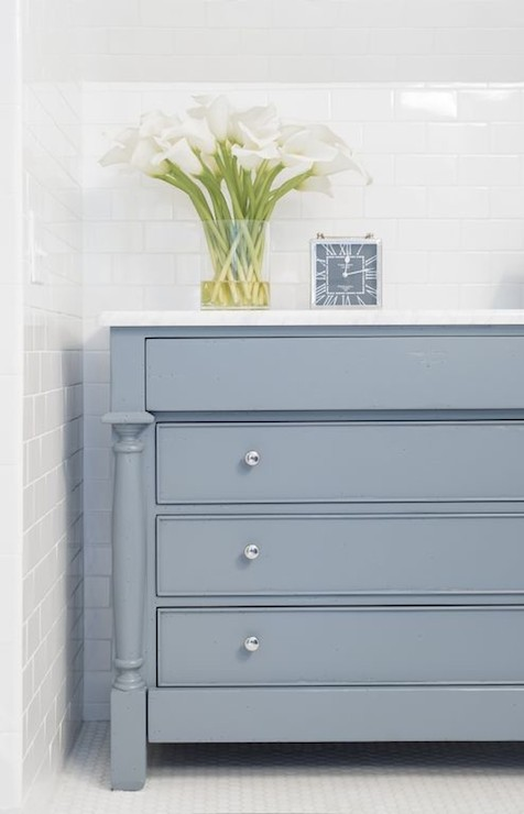 Gray Blue Paint Colors Contemporary Bathroom